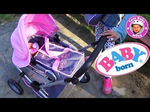 BABY born deluxe Puppenwagen Zapf creation - Kanal für Kinder