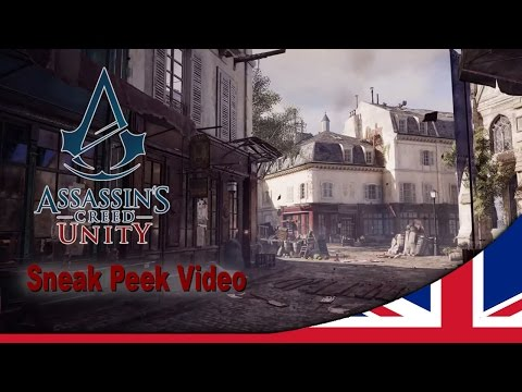 Qu'ils mangent de la brioche [Let them eat cake]! We have been working on the new Assassin's Creed for more than three years and although we weren't quite ready to show you our full vision for a next-gen only AC, it seems Abstergo are trying to force our