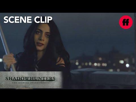 Shadowhunters | Season 2, Episode 10: Izzy Saves Alec and Aldertree | Freeform