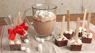 Hot Chocolate On A Stick   Episode 1212 by Laura in the Kitchen
