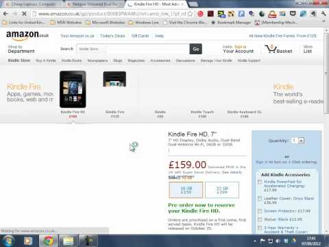 Kindle Fire HD amazon new  hd tablet.mp4