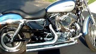8. 2005 Harley Davidson Sportster 1200 Custom