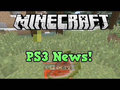 info - News about Minecraft PS3; specifically patch 1.0.6 and the candy texture pack Livestream link: https://www.youtube.com/watch?v=8kwb49L_KF4 Important links: M...