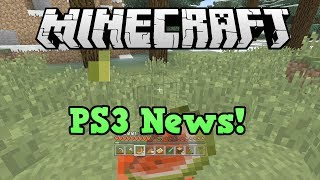 Minecraft PS3 Candy texture Pack Release Date, Patch 1.0.6 info