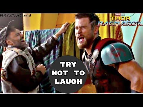 Thor: Ragnarok Hilarious Bloopers & Gag Reel - 2018