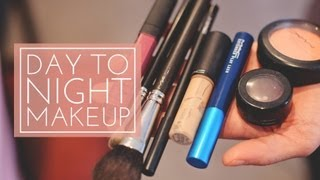Learn how to take your makeup from a daytime look to a nighttime look in just 5 minutes.-----------------------------------------------------------CONNECT WITH ME-----------------------------------------------------------facebook: http://www.facebook.com/Always-Blushingblog: http://www.alwaysblushing.com/
