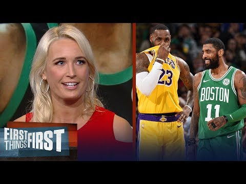 Kyrie Irving should reunite with LeBron in LA - Sarah Kustok | NBA | FIRST THINGS FIRST