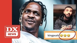 "Pusha T Clowns Drake For Claiming ""The Story Of Adidon"" Went Too Far"