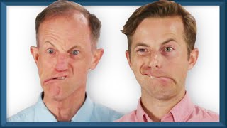 Video The Try Guys And Their Dads Imitate Each Other • Fatherhood: Part 2 MP3, 3GP, MP4, WEBM, AVI, FLV Maret 2019