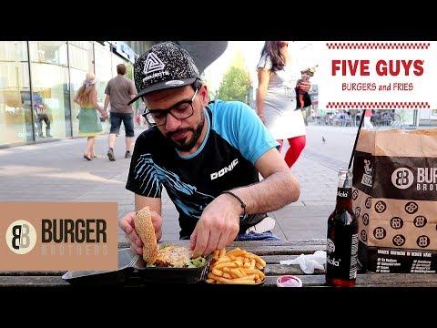 مقارنة مطاعم - فايف غايز الأمريكي ضد برغر برذرز الألماني Five Guys VS Burger Brothers
