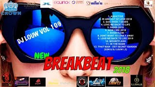 Download lagu Breakbeat Terbaru 2018 Makin Naik Brooo Nonstop Joget Sampe Subuh Dj Louw Vol 109 Mp3