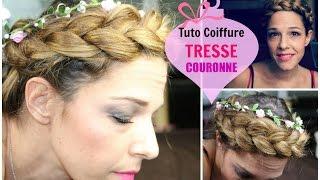 Tuto Coiffure #56 : La Tresse Couronne (Facile) / Crown Braid (Easy) - YouTube