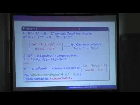 Gonzalo Contreras - Homogenization on arbitrary manifolds