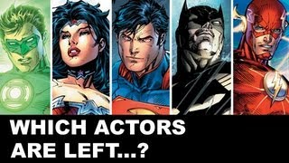 Justice League 2015 Cast Ideas For The Movie - Beyond The Trailer