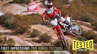 4. First Impressions: 2019 Honda CRF250RX