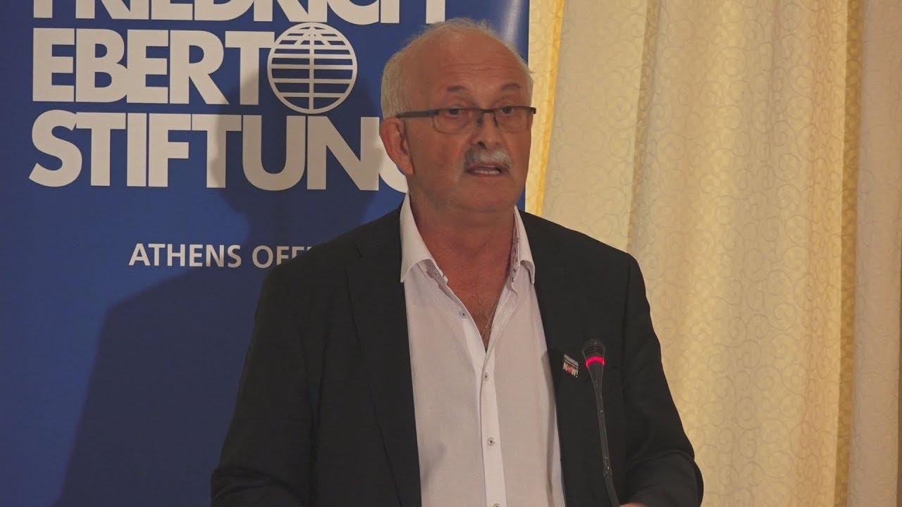 Ανοιχτό διάλογο με όλους τους προοδευτικούς πολίτες στην Ευρώπη προτείνει ο Ούντο Μπούλμαν