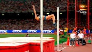 Maria Kuchina(RUS) 2.01m PB Gold Medal High Jump World Championships 2015 HD