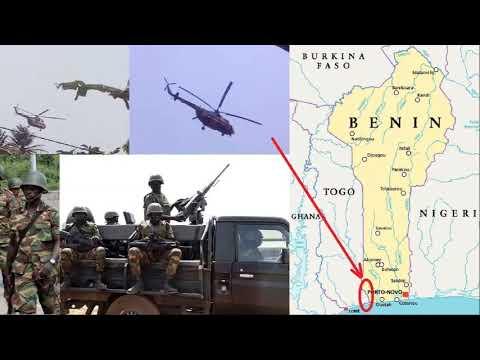 Frontière Togo-Bénin: L'armée togolaise a déployé une imposante force militaire ce dimanche à Adjeta