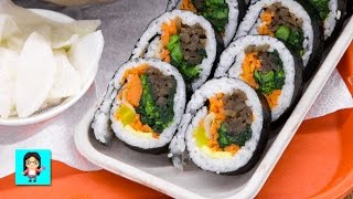Legit Kimbap at Hankook Market - Kingdom Koreatown #13