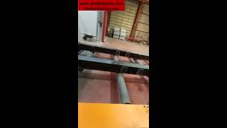 Roller conveyor shot blasting machine youtube video