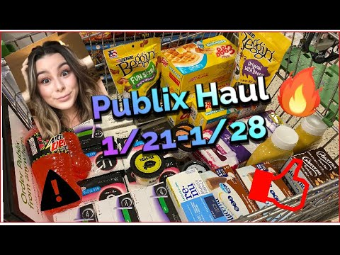 Publix Couponing Deals this Week: 01/21  - 01/28! LARGE HAUL!! STOCKING UP!! $150 in savings!