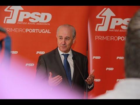 Declarações à imprensa de Rui Rio após a reunião do CEN em Coimbra