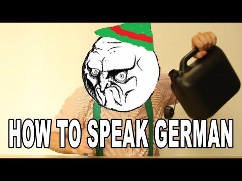 How To Speak German (Lesson 1) || CopyCatChannel (видео)