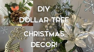 DIY Dollar Tree Christmas Decor | 7 Ideas for the Holidays!