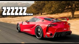Toyota's New Supra is BORING by That Dude in Blue