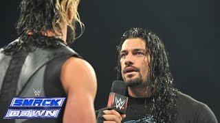 Video Roman Reigns interrupts Seth Rollins: SmackDown, January 9, 2015 MP3, 3GP, MP4, WEBM, AVI, FLV Juli 2018