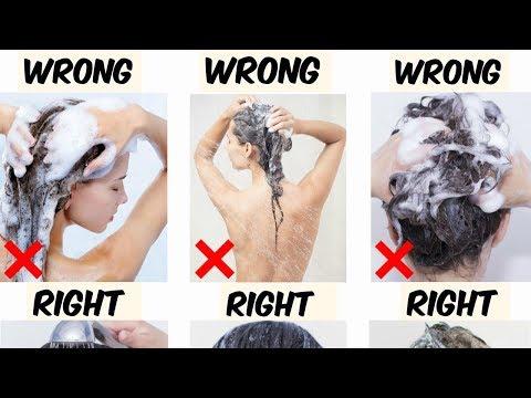 Hoe moet je, je haar wassen!