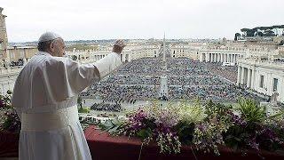Paskalya ayininde barış duası