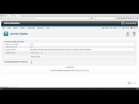 วิธี Upgrade joomla 2.5.x To Joomla 3.x