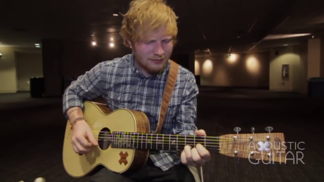 Acoustic Guitar Sessions Presents Ed Sheeran