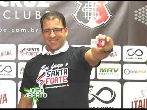 [JOGO ABERTO PE] Após rebaixamento, Marcelo Martelotte é demitido do Santa Cruz