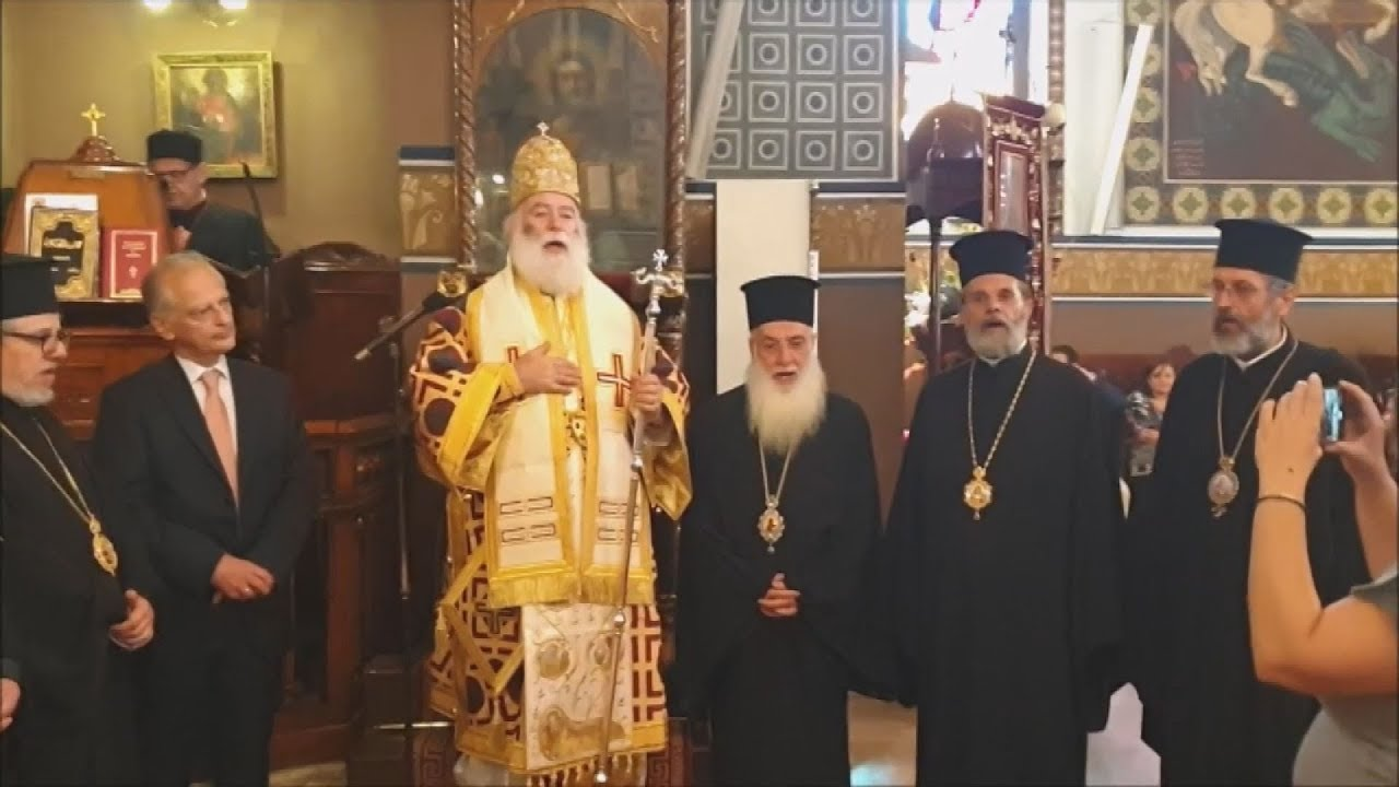 Ο πατριάρχης Αλεξανδρείας, αναγνώρισε τον μ/τη Κιέβου, Επιφάνιο
