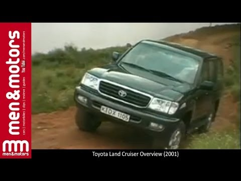 2001 Toyota Land Cruiser Overview