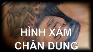Hình Xăm Chân Dung ( Portrait Tattoo ) Minh Duc Art 0906 628 638