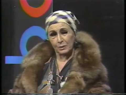 Talk Show - Louise Nevelson