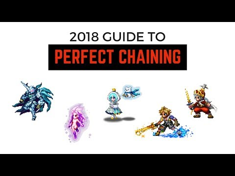 Brave Exvius Spark Chaining With Magnification Button Android 2018 | FFBE