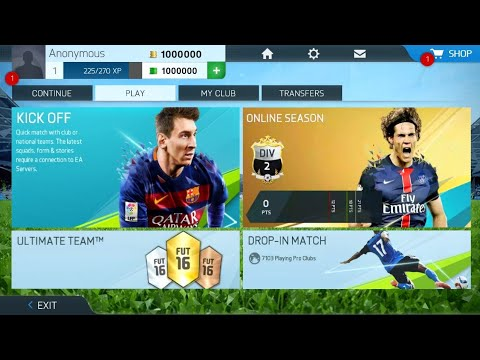 FIFA 16 High Graphics Mod Android Real Faces