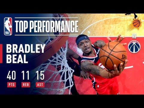 Video: Bradley Beal's 40-Point Triple-Double Leads Wizards In Triple-Overtime! | December 22, 2018