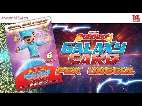 #BoBoiBoyGalaxyCard ✨PEK UNGGUL✨ - Paket BoBoiBoy Air