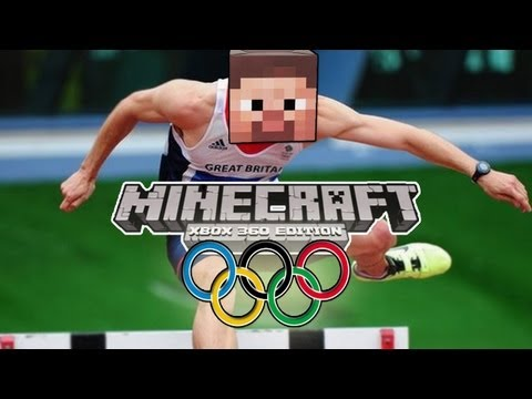 Minecraft (Xbox 360) - OLYMPIC GAMES w/ Big B statz & Subscribers #1 - HURDLES