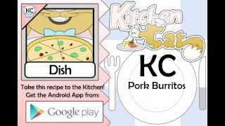 KC Pork Burritos YouTube video