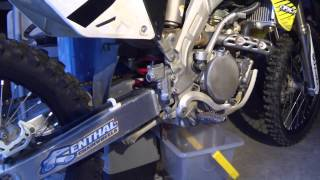 8. Suzuki RM-Z 250 Build Project (PT. 3) Oil Change, Gasket change, and Honda Bond! - Ep. 54