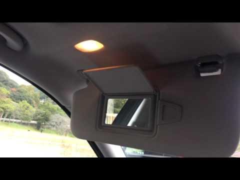 【How to】Mercedes-Benz E-class w211 Sun visor with an illumination