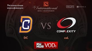 DC vs coL, game 1
