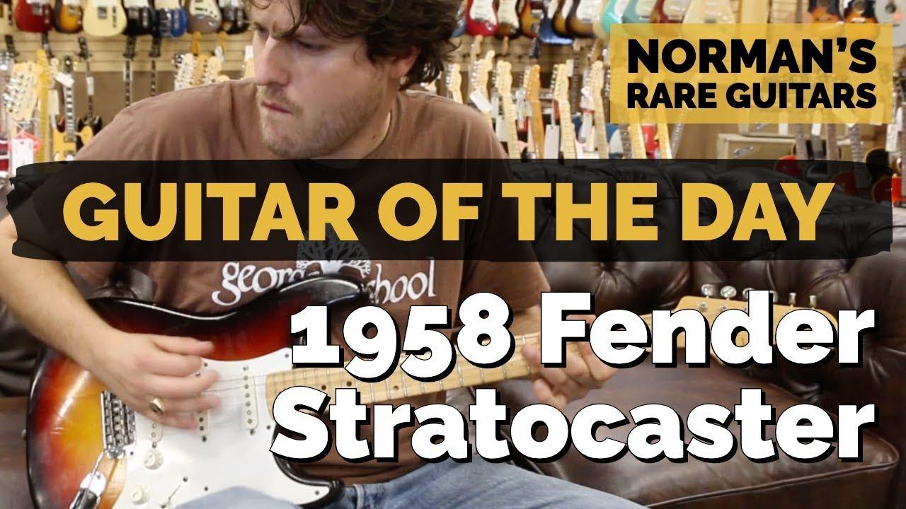 Guitar of the Day: Original 1958 Fender Stratocaster | Norman's Rare Guitars