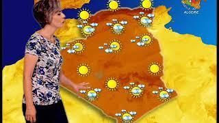 Retrouvez la météo du lundi 19 Août 2019 sur Canal Algérie